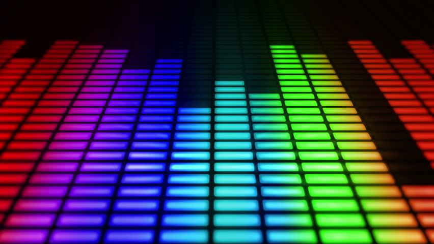 techno rainbow background - photo #10