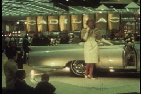 1960s - There are many opportunities for recreation in Detroit including car shows, museums, and art galleries during the 1960s