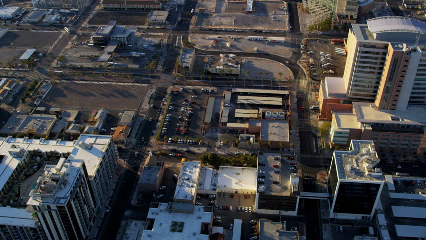 Aerial view Las Vegas Metropolitan and commercial areas, Nevada, USA, RED EPIC | Shutterstock HD Video #4242431