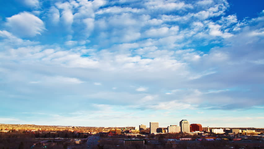 Downtown Colorado Springs Timelapse