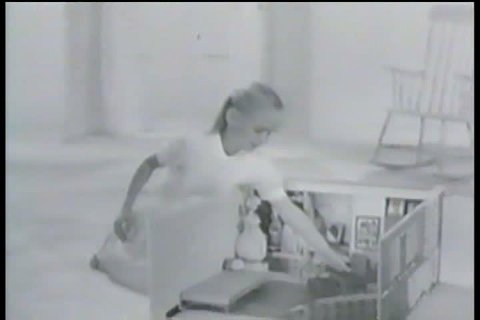 1950s - Barbie's dream house is introduced in this commercial during the 1950s