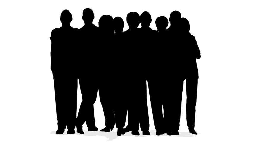 Free Images Black And White People Crowd Statue: Crowd Of People, Heads Stock Footage Video (100% Royalty