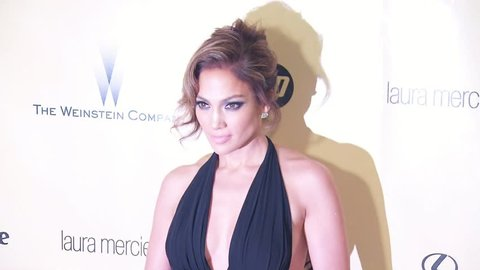 BEVERLY HILLS - January 13, 2013: Jennifer Lopez at the Weinstein Company's 2013 Golden Globe After Party in the Beverly Hilton Hotel in Beverly Hills January 13, 2013
