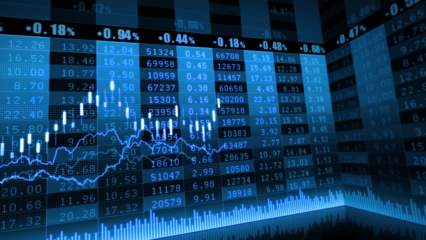 Stock Market Trend Of Animation