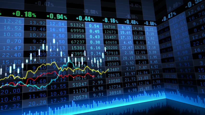 Stock market trend of animation. | Shutterstock HD Video #4518230