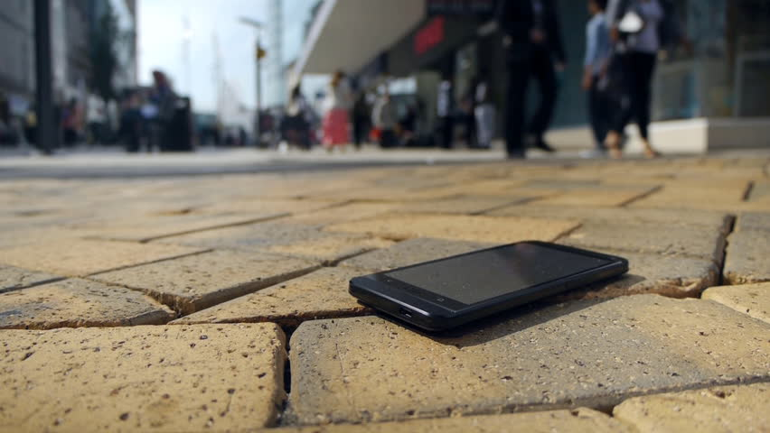 Lost smartphone.