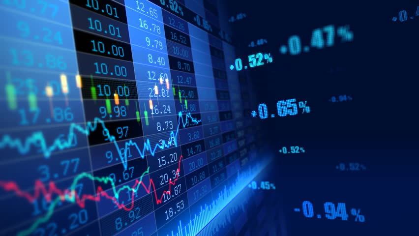 Stock market trend of animation. | Shutterstock HD Video #4548131