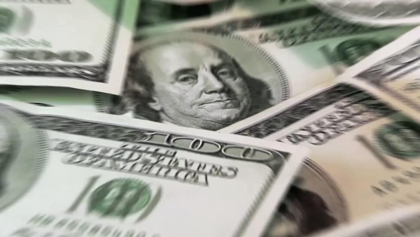 American dollars   Shutterstock HD Video #4554071
