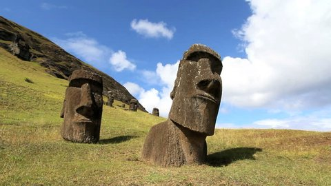 Moai at the Quarry timelapse