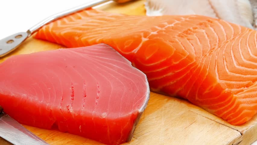 Image result for salmon tuna