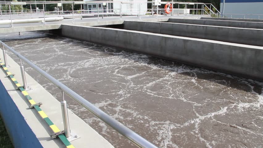 aeration basins in waste water treatment An aerated lagoon (or aerated pond) is a simple wastewater treatment system  consisting of a  there are many methods for aerating a lagoon or basin.