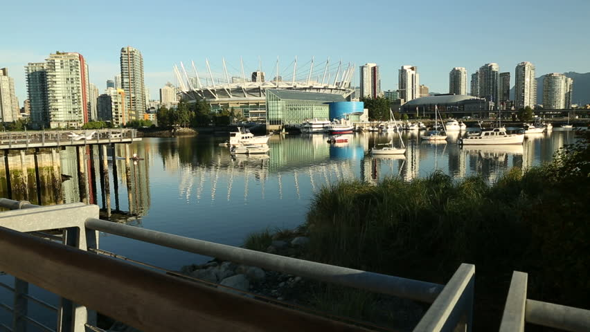 Paddle Workout False Creek Vancouver Early Morning By A Paddler In