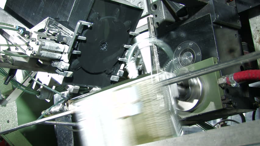 DVD box production