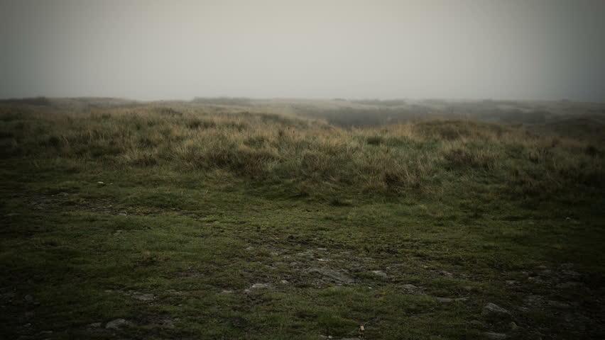 Misty Yorkshire Moor. A panning shot of a bleak Yorkshire Moor filmed on the Blackmagic Cinema Camera using a 16bit RAW work flow.