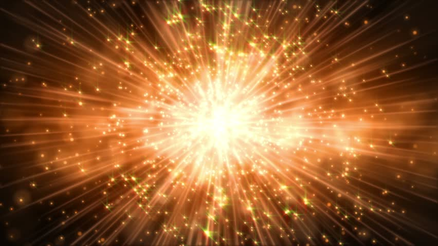 Abstract motion golden colors background, shining lights, sparks and fireworks like particles, seamless loop able. | Shutterstock HD Video #4860704