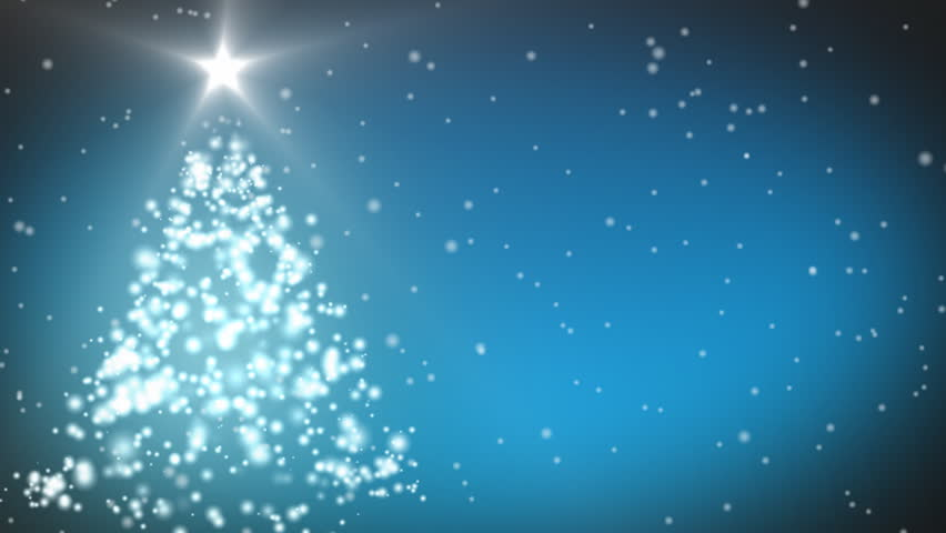 animation of a christmas tree hd stock video clip - Animated Christmas Tree