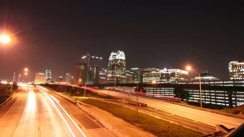 Downtown Orlando and I4 2