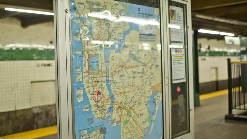 Free Subway Map Of New York City.New York October 22 Stock Footage Video 100 Royalty Free 4937591 Shutterstock