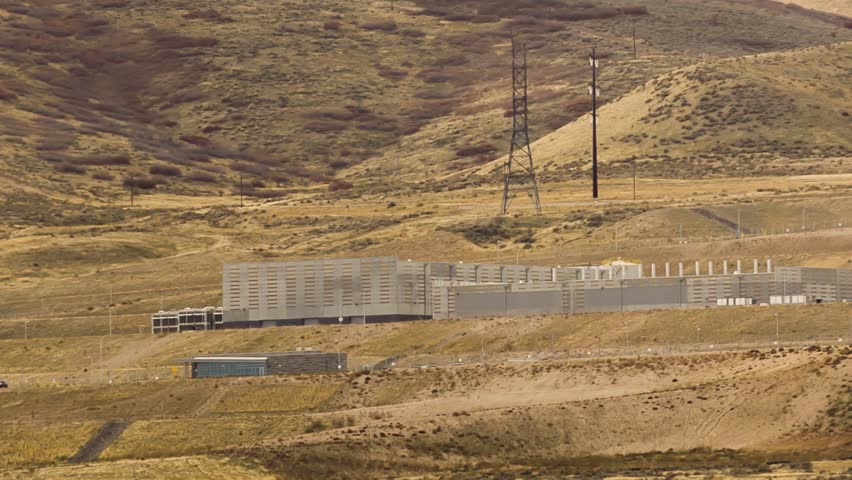National Security Agency data center in Lehi, Utah.  Multiple angles and zoom shots.