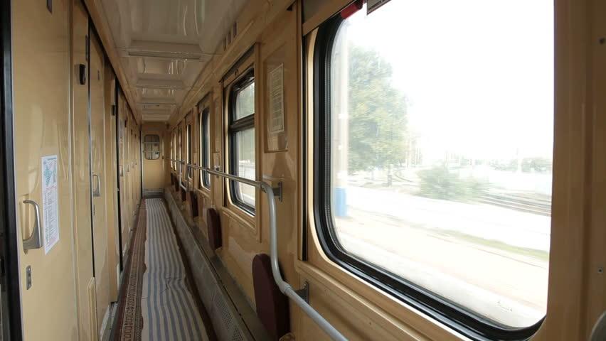 Travel by sleeper train - inside the railroad car | Shutterstock HD Video #4965071