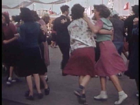 1930s - Swing dancing from the 1939 NYC World fair.