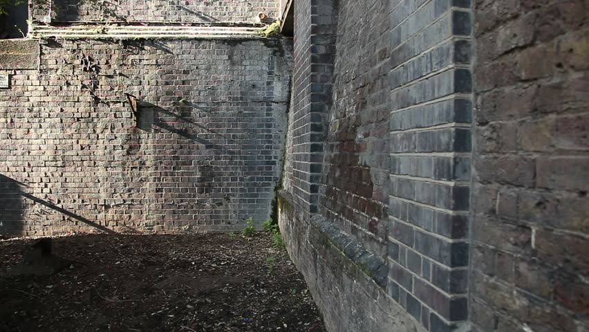 Brick Wall Corner In London Stock Footage Video 100 Royalty Free 5062871 Shutterstock