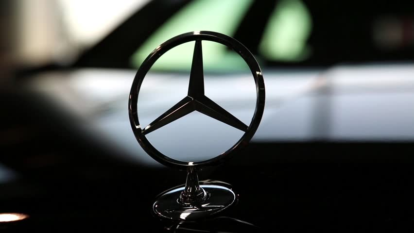 "KIEV, UKRAINE, SEPTEMBER 7, 2012: Mercedes-Benz at yearly automotive-show ""Capital auto show 2012"". September 7, 2012 in Kiev, Ukraine"