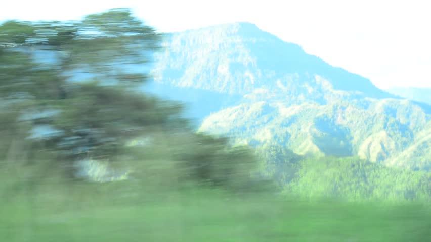 Car running on Mountain | Shutterstock HD Video #5102531