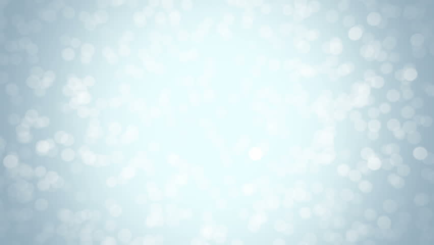 Blue glitter background - seamless loop, winter theme