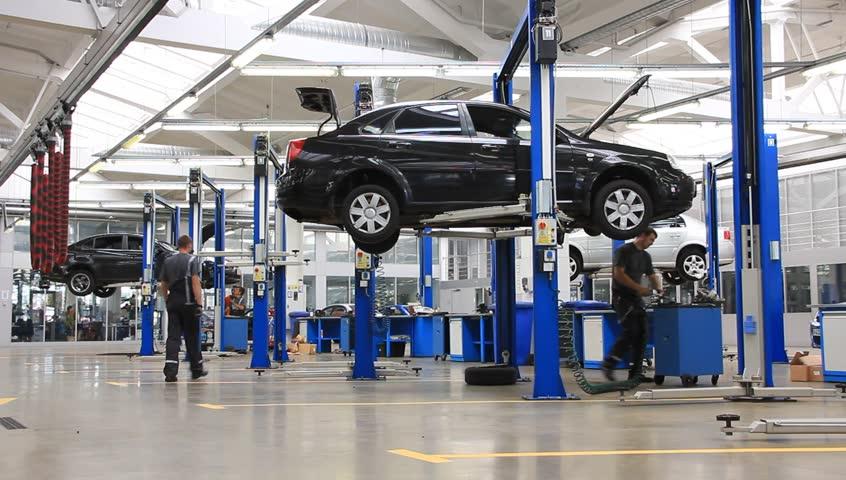 Auto Repair Shop Stock Footage Video | Shutterstock