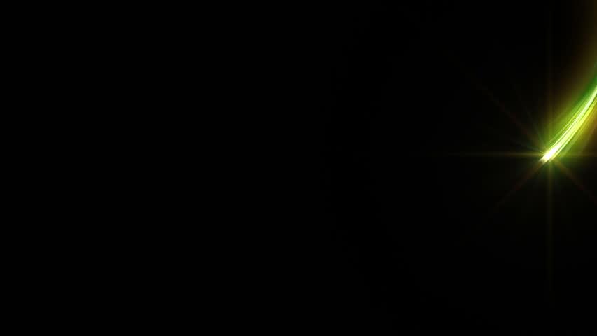 Colorful Light streaks. | Shutterstock HD Video #5190110