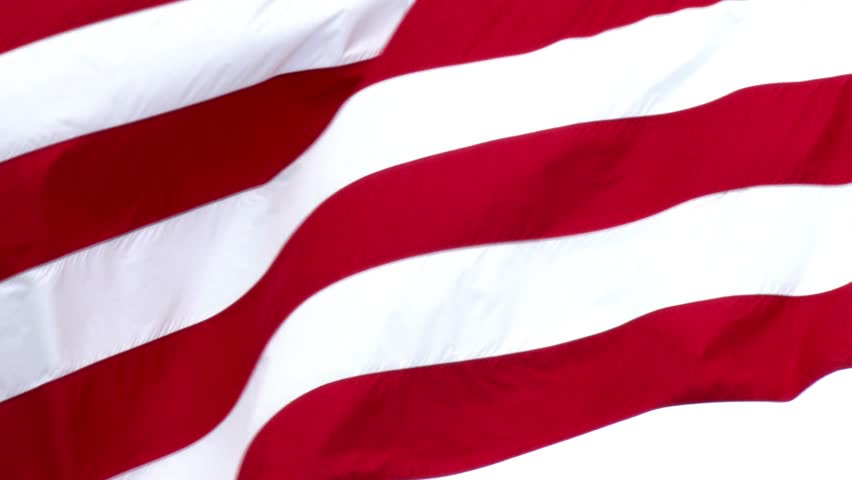 A close up shot of a waving American flag. Shot at 60fps for slow motion. In 4K UltraHD.
