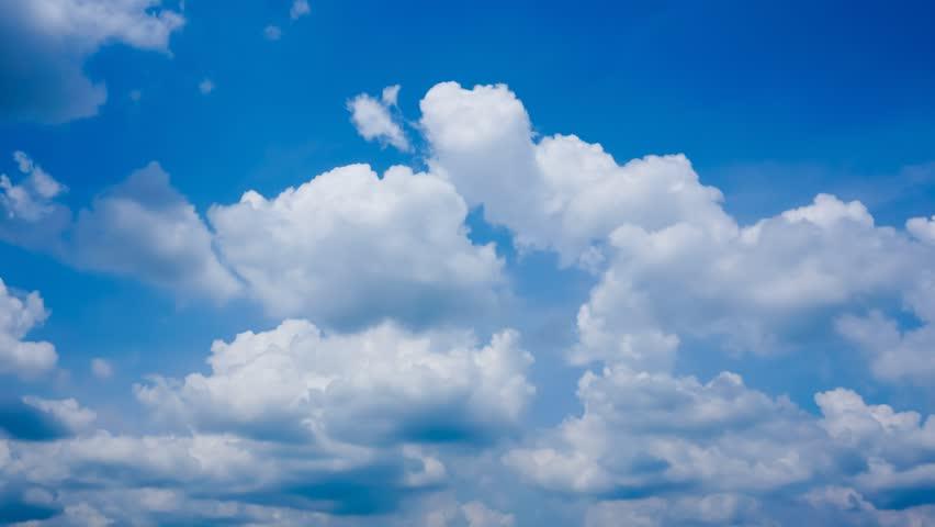 4K. Timelapse rolling clouds - ULTRA HD, 4096x2304. #5309768
