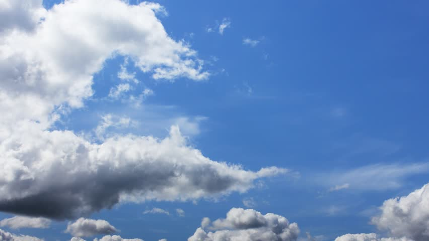 Blue sky timelapse. Full HD | Shutterstock HD Video #5312381