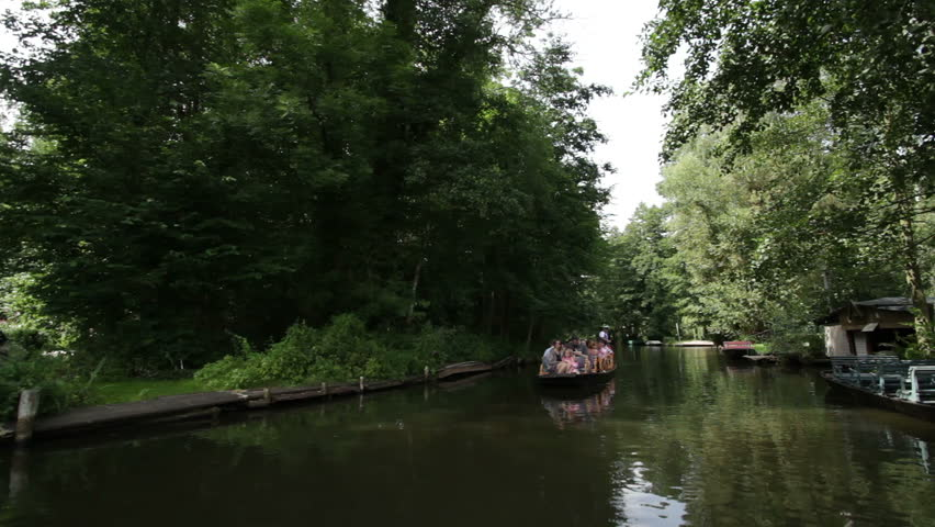 luebbenau germany 17 august 2012 people take a boat trip in the famous - Bamboo Garden 2016