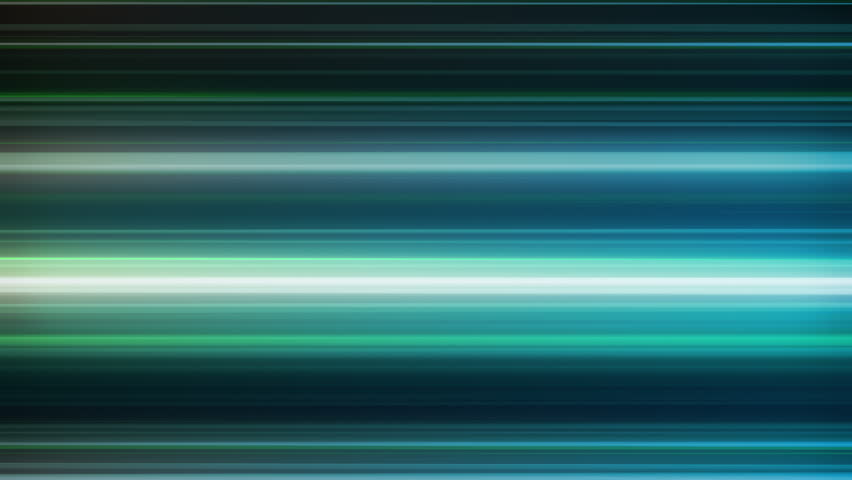 Fast Neon Light Streaks Loop 1B: fast speed ride neon glowing flashing lines streaks in mint green and cool blue color, UltraHD and FullHD and seamlessly loop-able