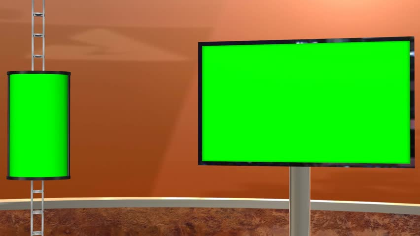 Virtual Studio with Greenscreen - Stock Footage Video (100% Royalty-free)  5427701 | Shutterstock