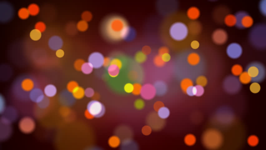 Computer generated abstract video animation of light particles bokeh loop random moving | Shutterstock HD Video #5429789