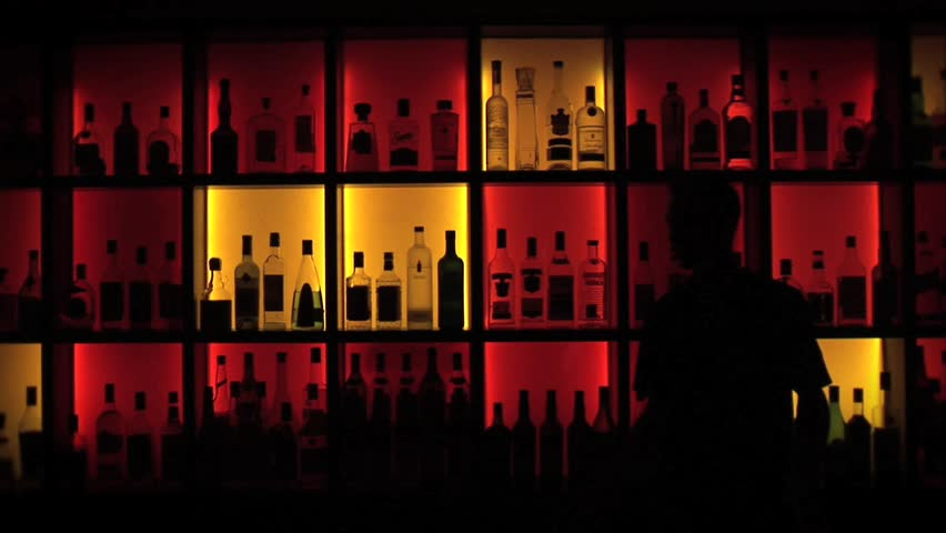 Header of bartender