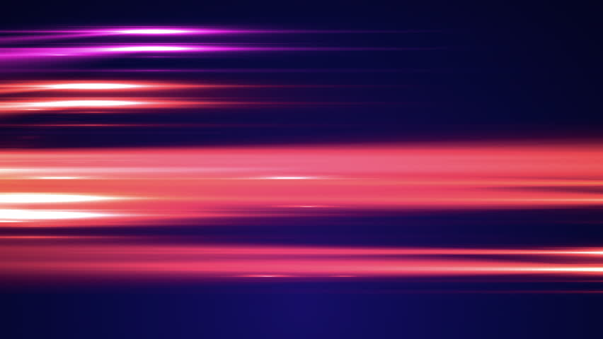 A beautifully animated video background of lights streaking by.