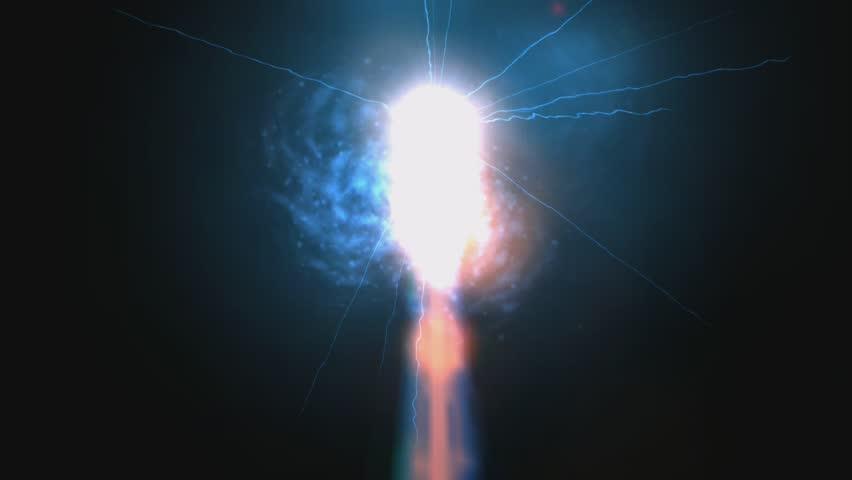 Laser Flashes Animation
