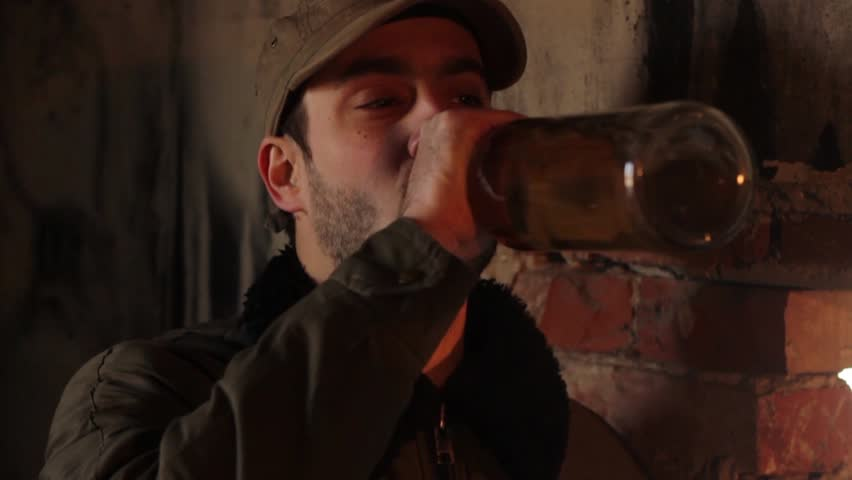 Drinking From Footage Guy Shutterstock Royalty-free Whiskey 100 Stock 5497931 Video The