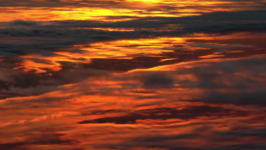 Fantastic Sunset Clouds  Unique, Actual Stock Footage Video (100%  Royalty-free) 5505791   Shutterstock