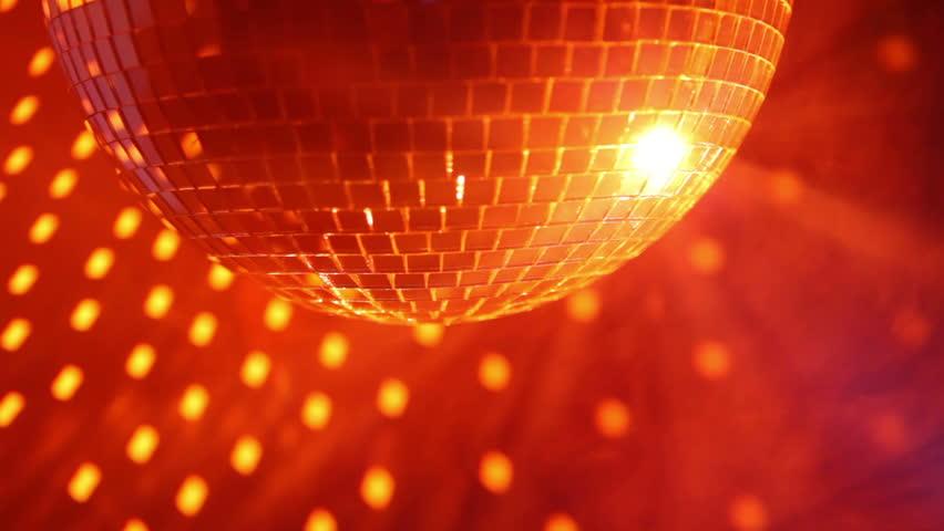 4k Disco Hypnotic Light Centerd Vj Loop Disco Effect: Mirror Ball Stock Video Footage