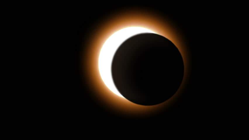 Solar Eclipse caused by a Lunar event with Ring of Fire. Perfect for videos about: solar events, lunar events, eclipse, eclipses, astronomy, the ring of fire, moon, sun, solar, science.