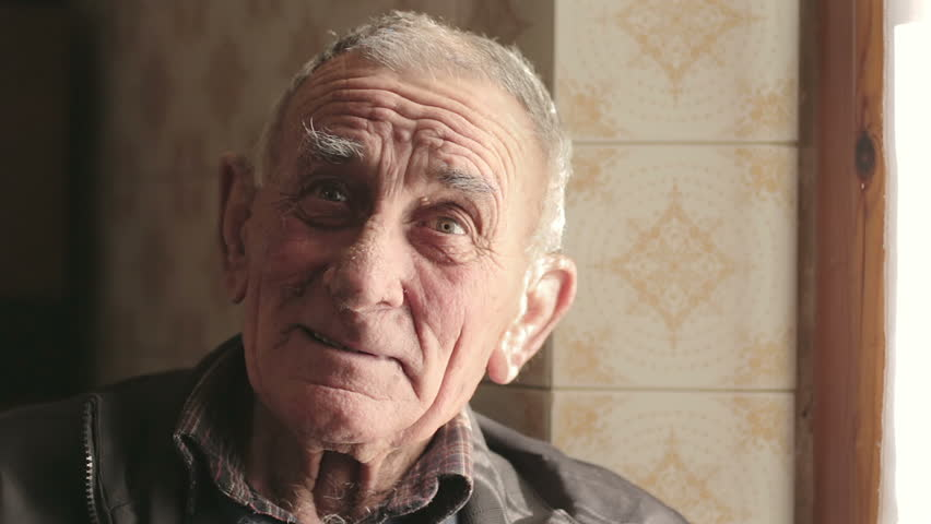 Close up of a smiling old man looking at the camera - farmer | Shutterstock HD Video #5744939