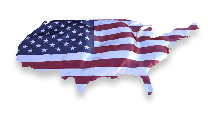 Zoom in Usa Flag Map Stock Footage Video (100% Royalty-free) 5769761 ...