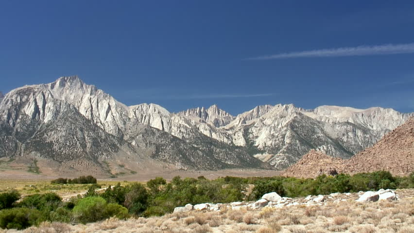 Mt. Whitney, the highest summit in the contiguous United States