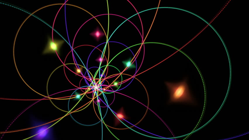 nice colorful science backrounds colorful holiday stars on black background animation 30fps
