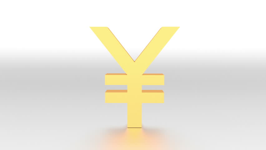 Fall Of Japanese Yen Animation Stock Footage Video 100 Royalty